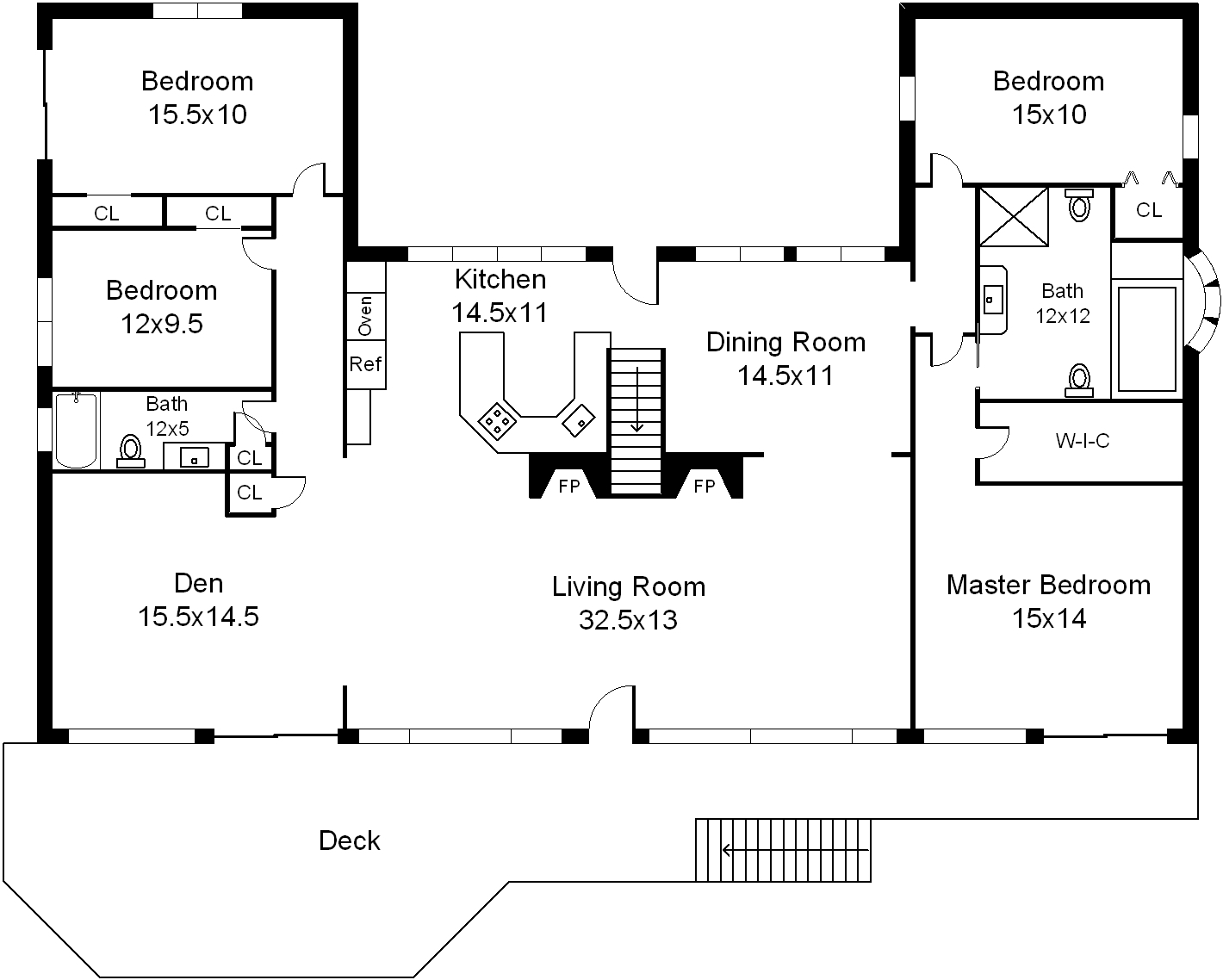 Floor Plans - Centerport Western Waterview