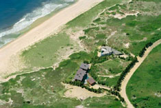 East Hampton Oceanfront Compound - Aerial View