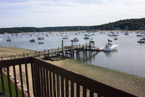 Harbor Villa's New Exclusive - View from Townhouse - Dock