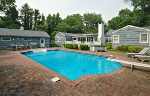 Lloyd Harbor Wooded Retreat with Country Club Setting - Inground Pool - SOLD