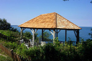 Southold Waterfront - Gazebo overlooking Sound