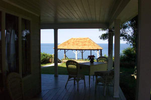 Southold Waterfront -  Wrap-around Porch & Gazebo overlooking Sound